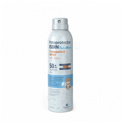 FOTOPROTECTOR ISDIN SPRAY TRANSPARENT SPF 50+  200 ML