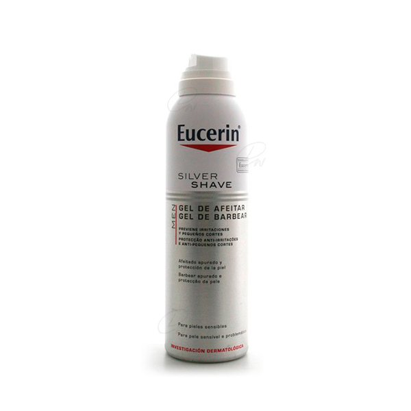 EUCERIN MEN SILVER SHAVE GEL DE AFEITAR 150 ML