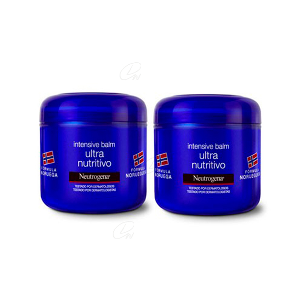 NEUTROGENA INTENSIVA BALM ULTRA NUTRITIVO 300 ML+ 300 ML