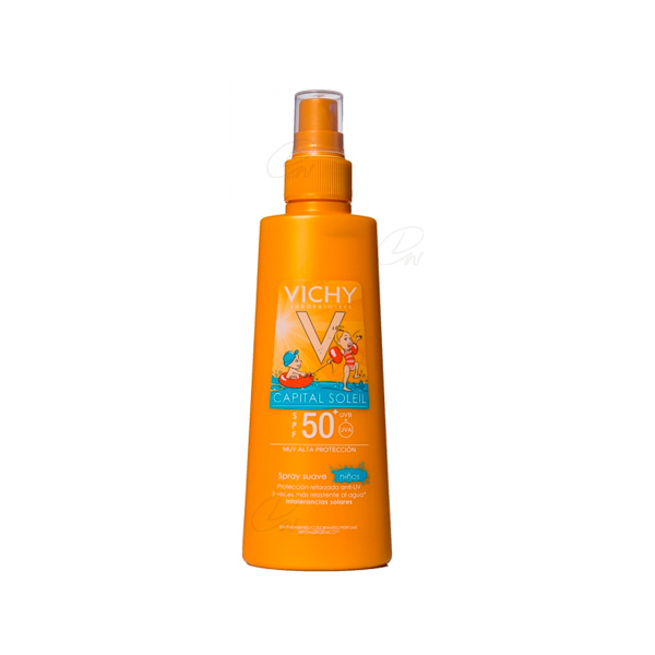 CAPITAL SOLEIL SPF 50+ SPRAY INFANTIL PISTOLA 200 ML