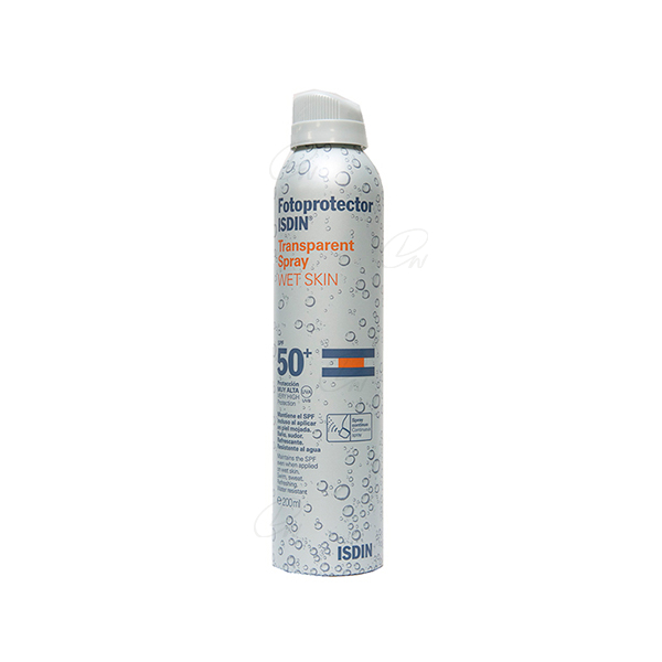FOTOPROTECTOR ISDIN SPF-50+ SPRAY TRANSPARENTE 200 ML