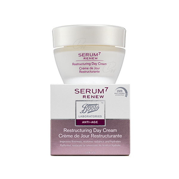 BOOTS LABORATORIES SERUM7 RENEW CREMA REESTRUCTURANTE 50 ML