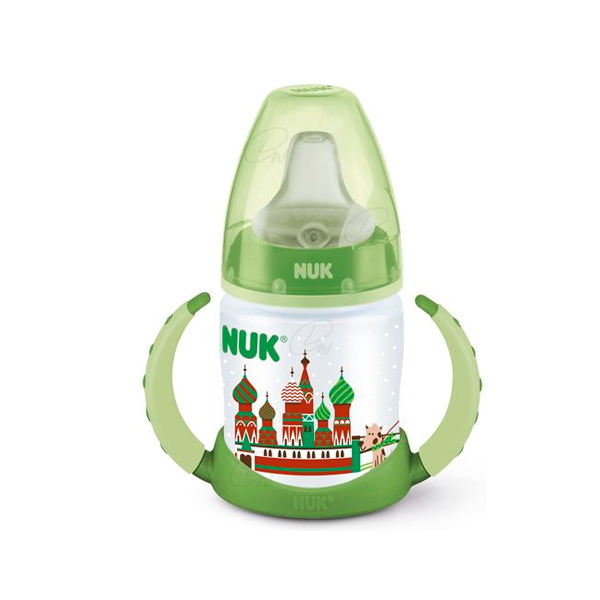 BIBERON ENTRENA TRAVEL NUK SILICONA 150 ML