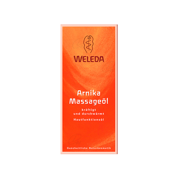 WELEDA ACEITE DE MASAJE CON ARNICA 100 ML