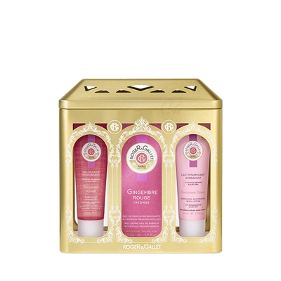 PACK ROGER & GALLET GINGEMBRE ROUGE INTENSE