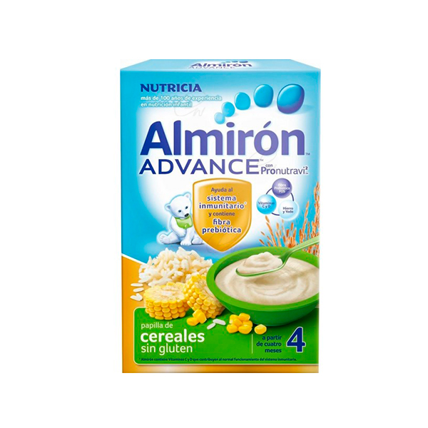 ALMIRON ADVANCE CEREALES SIN GLUTEN 500 G