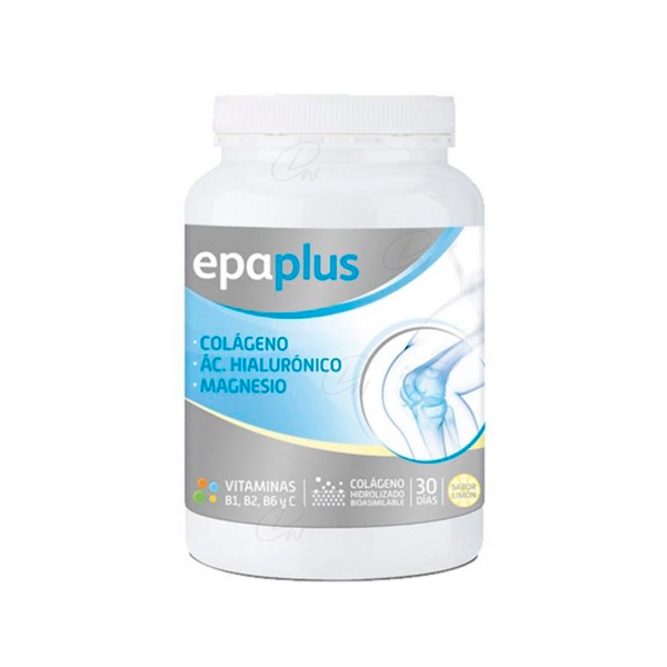 EPAPLUS COLÁGENO+HIALURÓNICO+MAGNESIO EN POLVO 332 GR SABOR LIMÓN