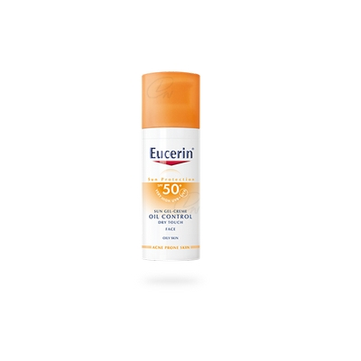 Eucerin Sun Gel-Creme Oil Control Dry Touch FPS 50+ 50 ml