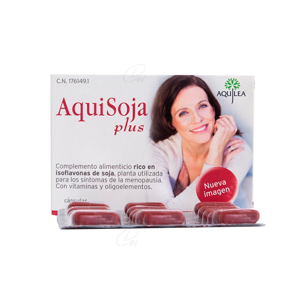 AQUISOJA PLUS 32 CAPS