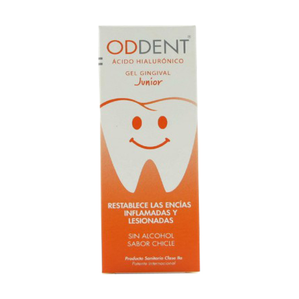 ODDENT ÁCIDO HIALURONICO GEL GINGIVAL JUNIOR 15M
