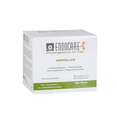 Endocare Proteoglicanos Oil-free ampollas 30 x 2 ml