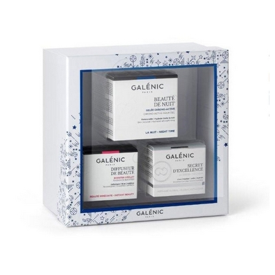 PACK GALENIC BEAUTE DE NUIT GEL 50 ML + SECRET EXCELLENCE 15 ML + DIFFUSEUR DE BEAUTE 15 ML