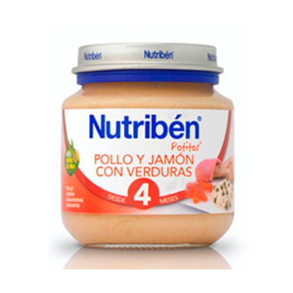NUTRIBEN POLLO JAMON VERDURA POTITO INICIO 130 G