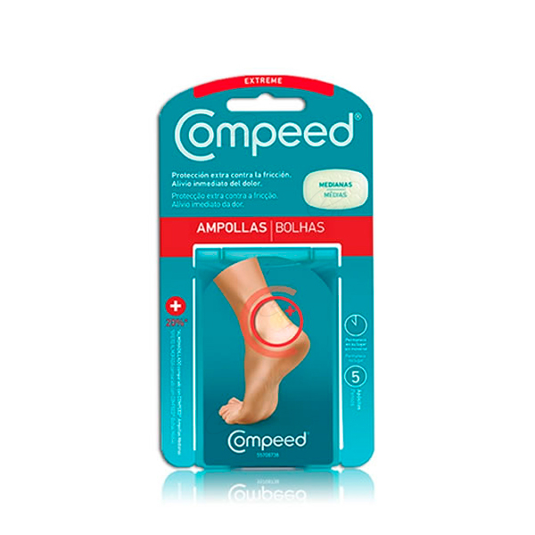 COMPEED AMPOLLAS T- MED 5 U
