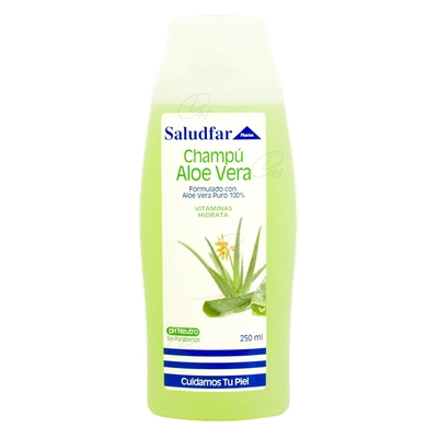 SALUDFAR PHARMA CHAMPU ALOE VERA 300 ML