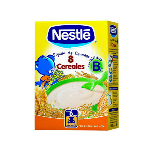 NESTLE PAPILLA 8 CEREALES 600 G
