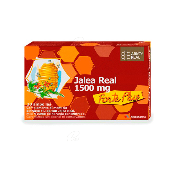 Arko Jalea Real 1500mg Forte Plus 20 Ampollas