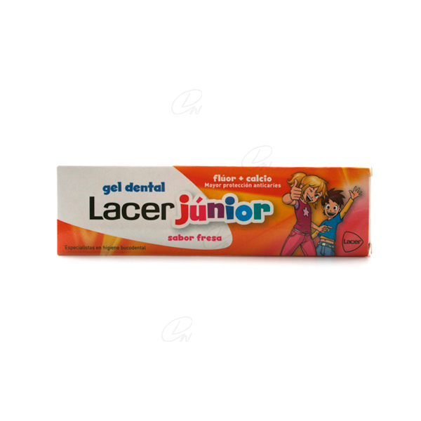 LACER JUNIOR GEL DENTAL 50 ML FRESA