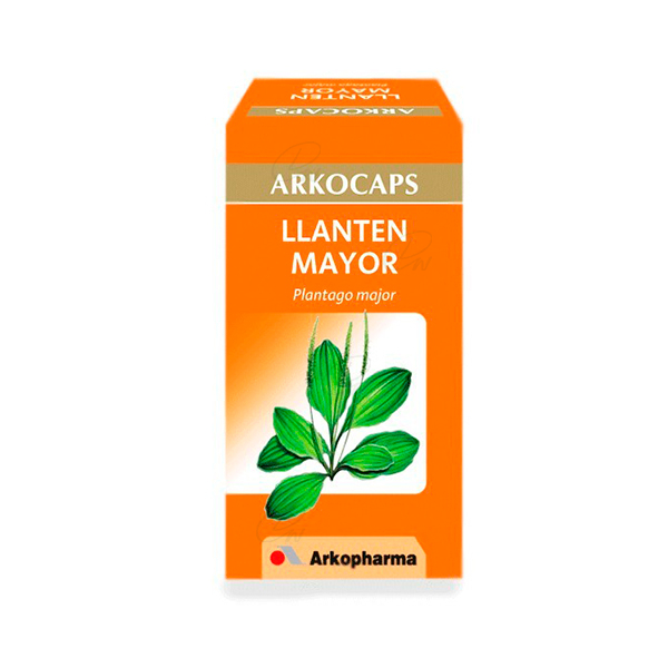 LLANTEN MAYOR ARKOCAPS 280 MG 48 CAPS