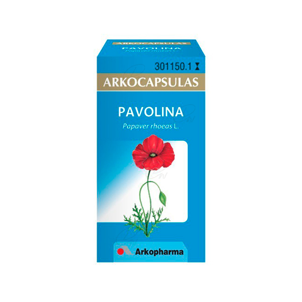 PAVOLINA ARKOCAPSULAS 48 CAPS