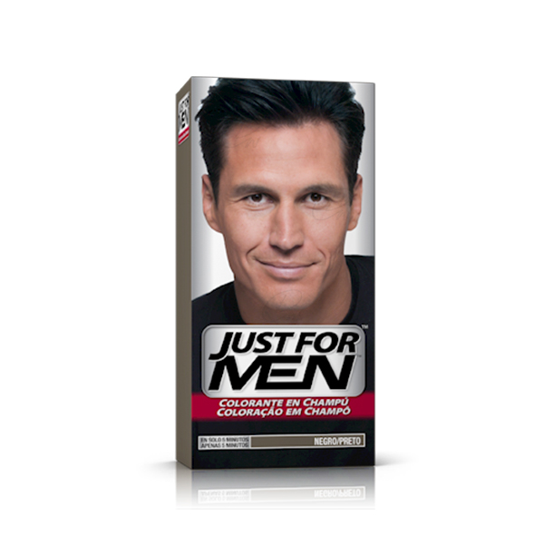 JUST FOR MEN 30 CC NEGRO