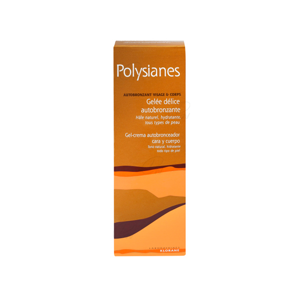 POLYSIANES GEL CREMA AUTOBRONCEADOR 100 ML