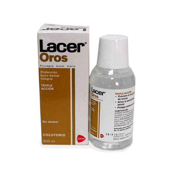 LACER OROS COLUTORIO 200 ML