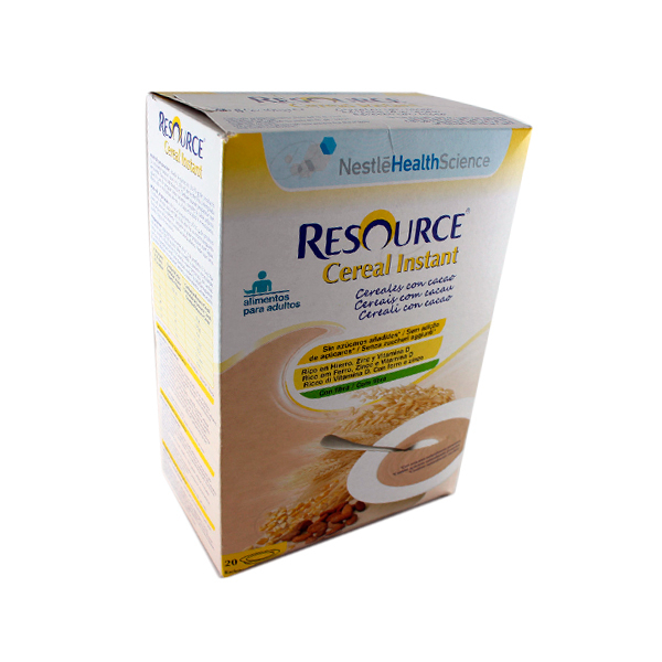 RESOURCE CEREAL INSTANT CON CACAO 600 G