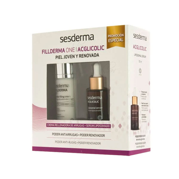 Sesderma Cofre Fillderma One 50ml + Acglicolic Serum 30ml