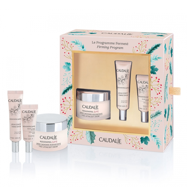 Caudalie Cofre Resveratrol Lift Crema Redensificante 50ml + Serum Firmeza 10ml + Lift Ojos 5ml