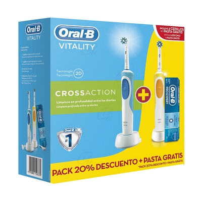 ORAL-B VITALITY CROSSACTION DUPLO