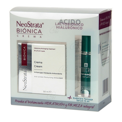 PACK NEOSTRATA BIONICA CREMA 50 ML + ENDOCARE TENSAGE SÉRUM 15 ML