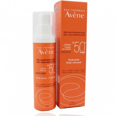 Avene SPF 50+ Fluido coloreado 50 ml