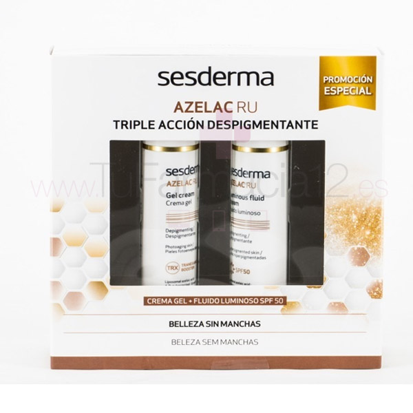Sesderma Pack Azelac Ru Crema-Gel 50ml + Fluido luminoso 50ml