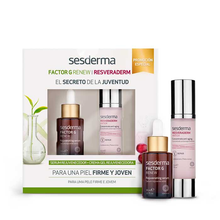 Sesderma Pack Factor g Serum 30ml + Resveraderm Antiox Crema Gel 50ml